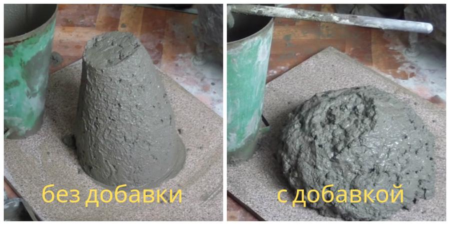 Если в качестве ускорителя твердения использовать смесь CemFix, можно также добиться снижения водопотребности на 10-12%, уменьшения расхода цемента на 5-10%.