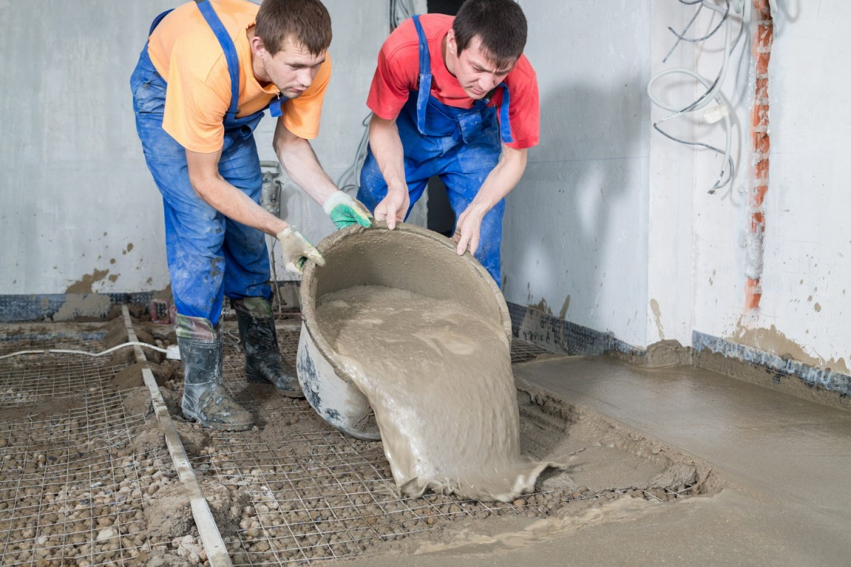 В чем перемешивать цементный раствор прайс заливка бетон москва