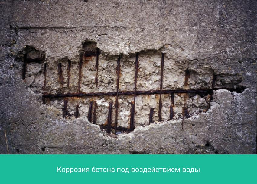 Воздействие воды на бетонную смесь бетон гост 26633 91 купить
