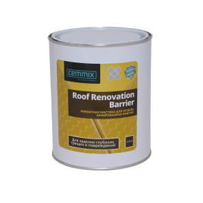 Roof Renovation Barrier